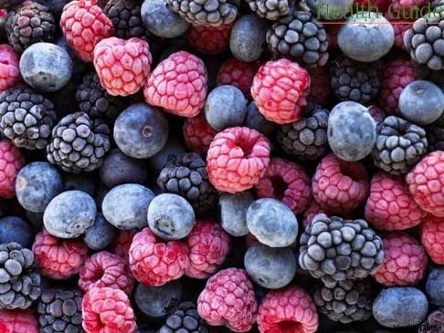 Frozen berries much healthier than jam
