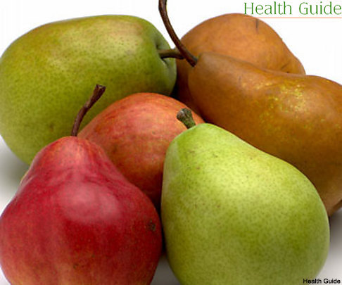 Why should we eat pears?
