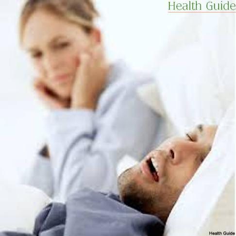 Snoring and sleep disorders related to it