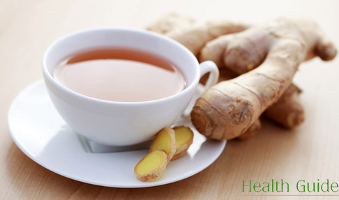 Ginger tea for beauty and health