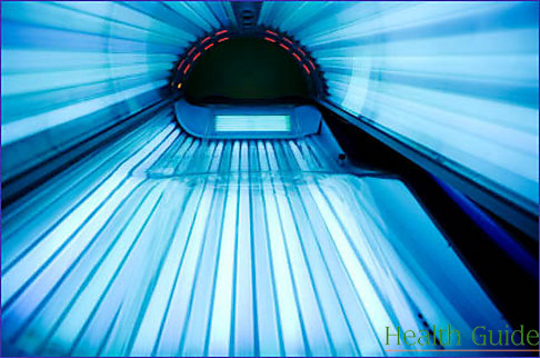 Frequent use of sun beds may turn into obsession