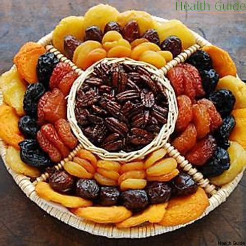 Dried fruit instead of sweets