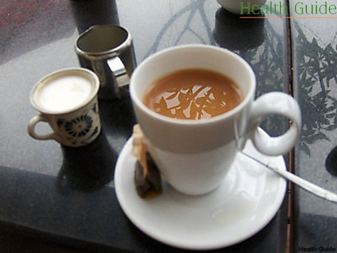 Milk in tea can impede weight loss