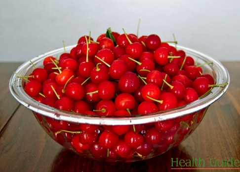 A handful of cherries instead of aspirin