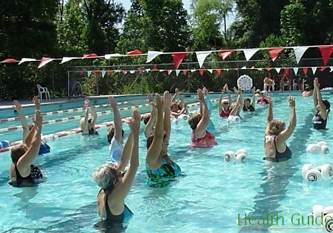 Water aerobics – easy and safe way to lose weight