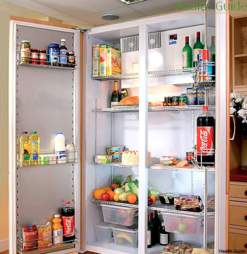 How should we keep the products in the fridge?