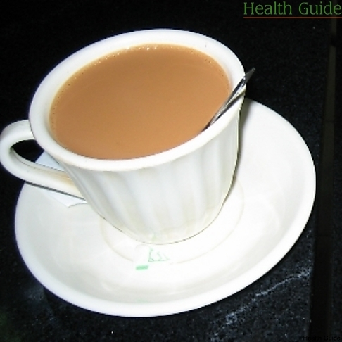Why is it dangerous to drink tea with milk?