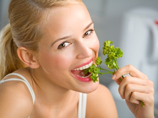 The power of parsley diet
