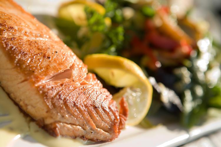 Fish diet for your skin