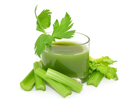 Celery juice for losing weight and strengthening your health