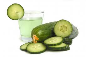 Cucumber juice for beauty and health