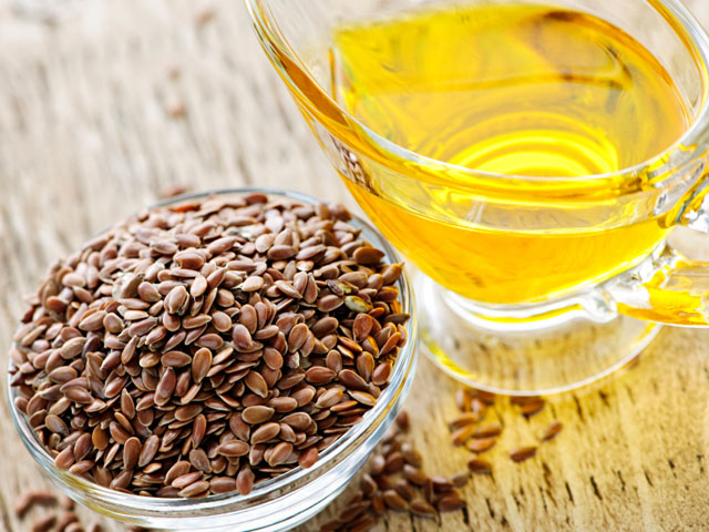 Therapeutic properties of flax seed oil