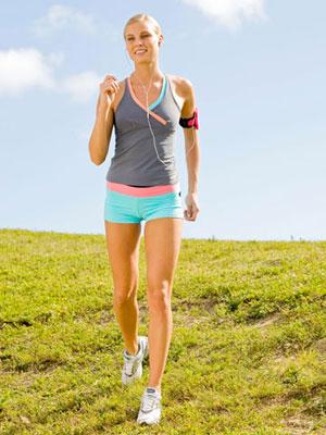 10 minutes walking workout