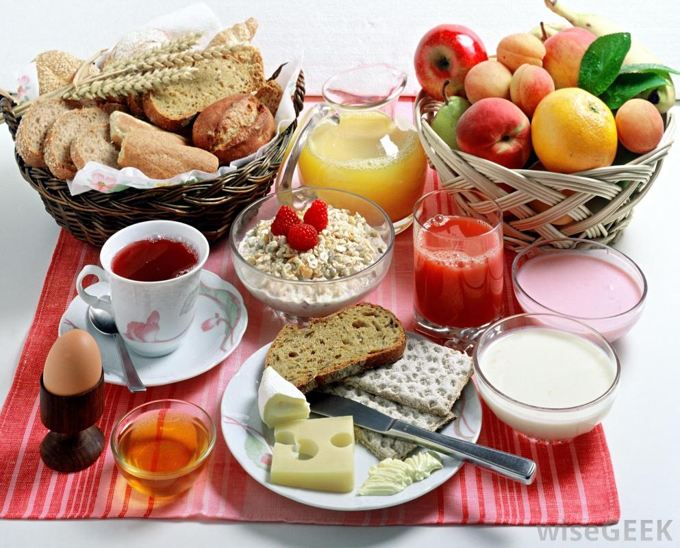 Ideas for healthy and tasty breakfast