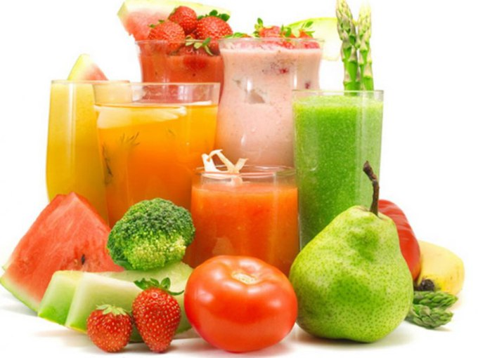 Fruit and vegetable cocktails that will help you to lose weight