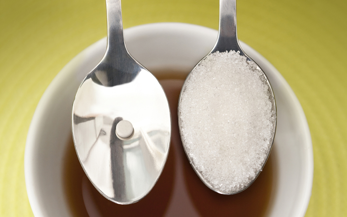 The most popular artificial sweeteners