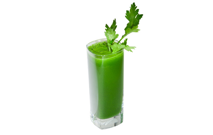 Improve your health with celery juice