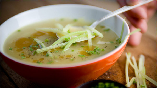 Detoxifying soup diet