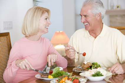 Proper nutrition for elderly people