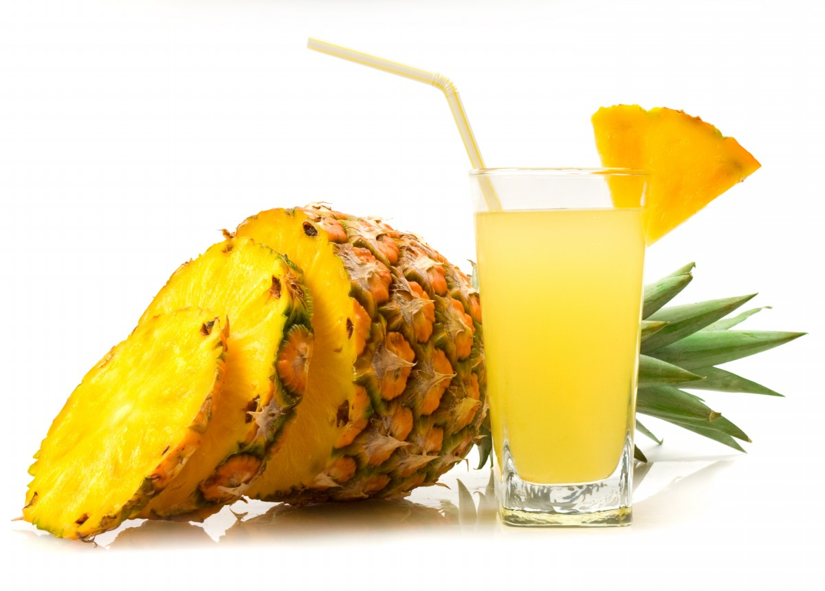 Pineapple juice can treat cough!